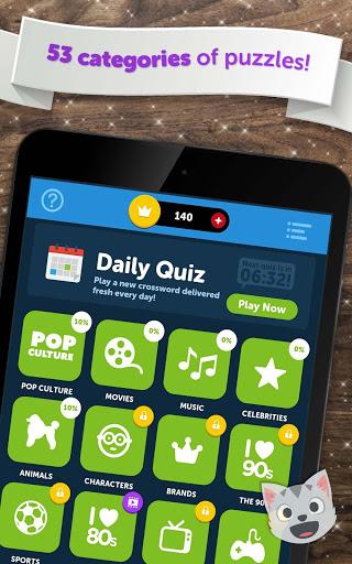 Crossword Quiz - Crossword Puzzle Word Game! 11 تصوير الشاشة