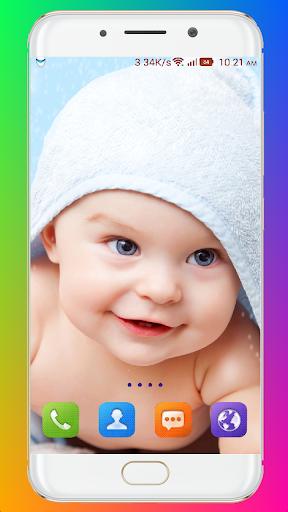 Cute Baby Wallpaper screenshot 11