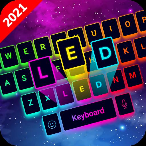 LED Lighting Keyboard - Emojis, Fonts, GIF icon