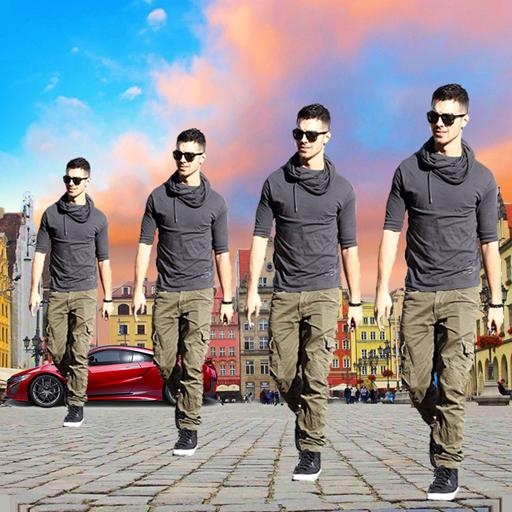 Best Echo Magic Mirror Effect : Background Changer icon