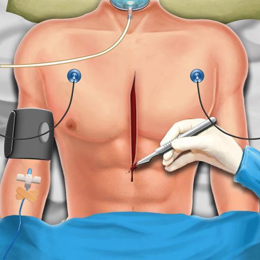 ألعاب طبيب جراحة القلب المفتوح الجديدة:العاب ممتعة أيقونة