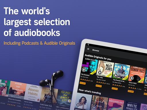 Audible: audiobooks, podcasts & audio stories screenshot 7