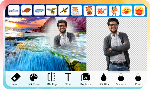 Waterfall Photo Editor and Photo Frames screenshot 6