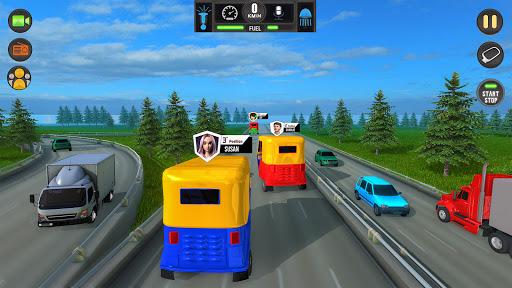 Tuk Tuk Rickshaw: Free Driving Games screenshot 1