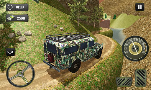 US OffRoad Army Truck driver 2020 screenshot 3