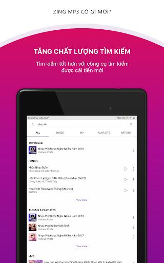 Zing MP3 screenshot 10