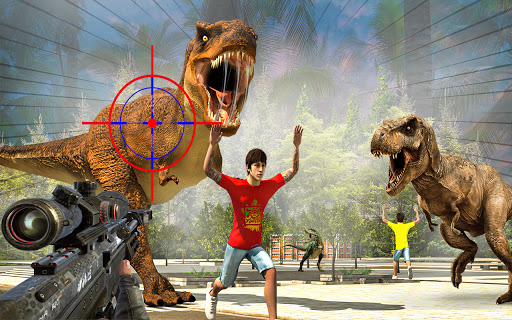 Wild Dino Shooting Adventure : Deer Hunting Games screenshot 1