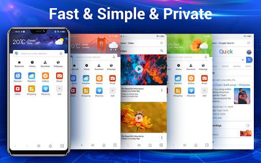 Web Browser & Web Explorer screenshot 1
