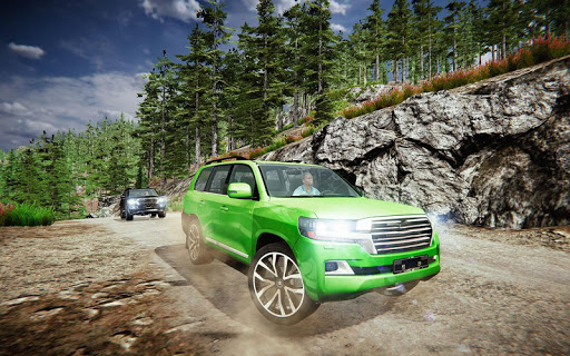 Offroad Prado Car 4X4 Mountain Drift Drive 3D screenshot 4
