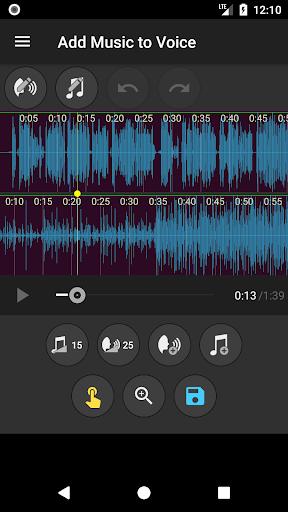 Add Music to Voice screenshot 3