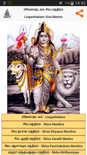Lingashtakam in Tamil (Shiva) 1 تصوير الشاشة