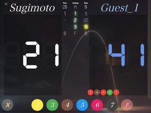neon cue sports score board screenshot 9