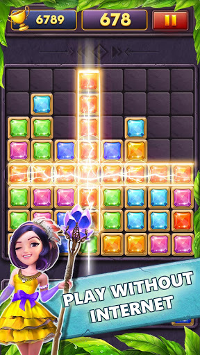 Block Puzzle Gems Classic 1010 screenshot 2