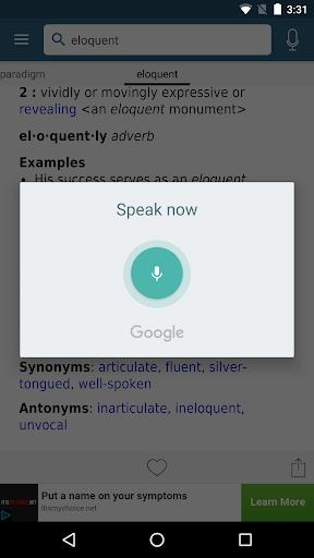 Dictionary - Merriam-Webster screenshot 4