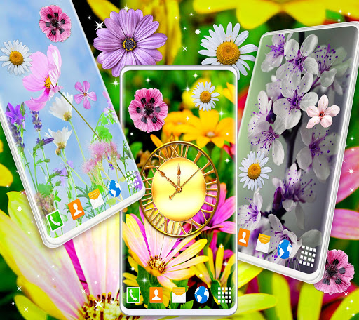 Spring Flowers Live Wallpaper 🌻 Summer Wallpapers скриншот 2