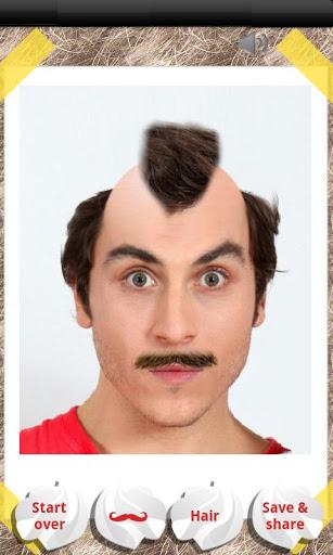 Make Me Bald Prank 4 تصوير الشاشة