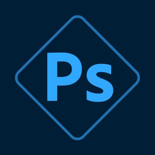 Adobe Photoshop Express:Photo Editor Collage Maker icon