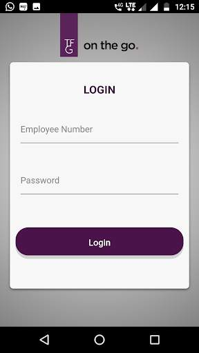 TFG on the go for employees screenshot 1
