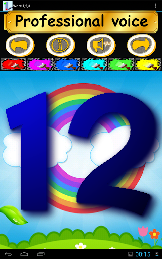 Write 123 - Learn Kids Numbers screenshot 20
