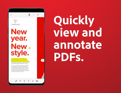 Adobe Acrobat Reader: PDF Viewer, Editor & Creator 2 تصوير الشاشة