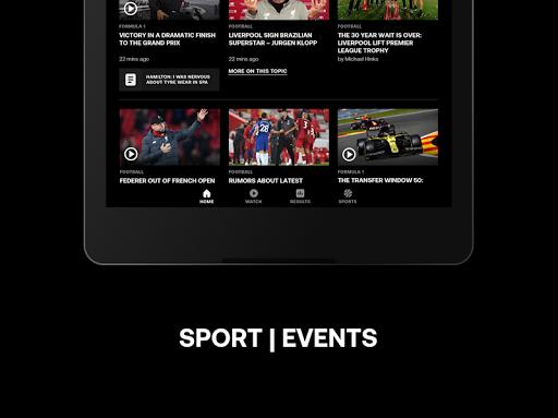 Eurosport: Sports News, Results & Scores screenshot 8