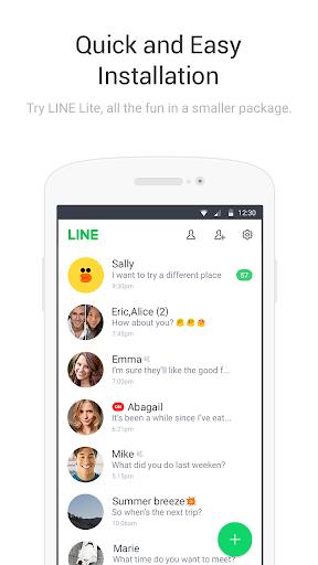 LINE Lite: Free Calls & Messages screenshot 5