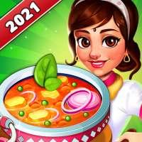 Ngôi sao Đầu bếp Ấn Độ: Game nấu ăn tại nhà hàng on 9Apps