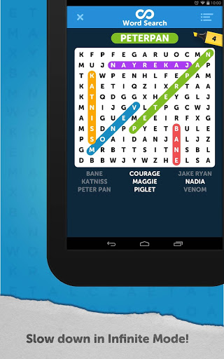 Infinite Word Search Puzzles स्क्रीनशॉट 11