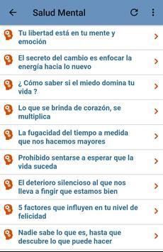 Salud Mental 2 تصوير الشاشة