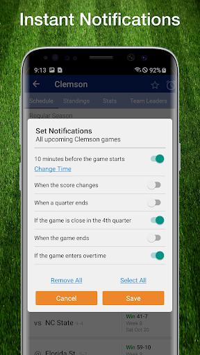 College Football Live Scores, Plays, & Schedules 4 تصوير الشاشة