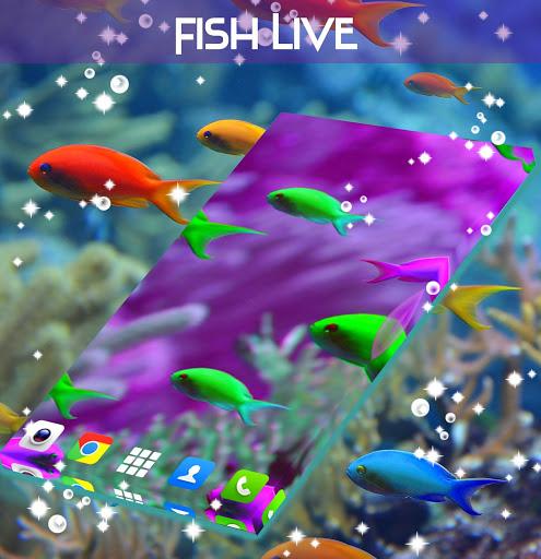 Fish Live Wallpaper Free screenshot 4