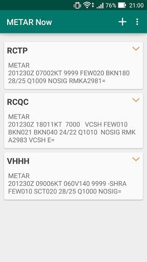 台灣機場天氣(METAR Now) 2 تصوير الشاشة