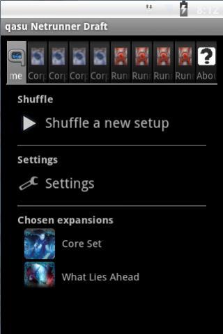 qasu Netrunner Draft 2 تصوير الشاشة