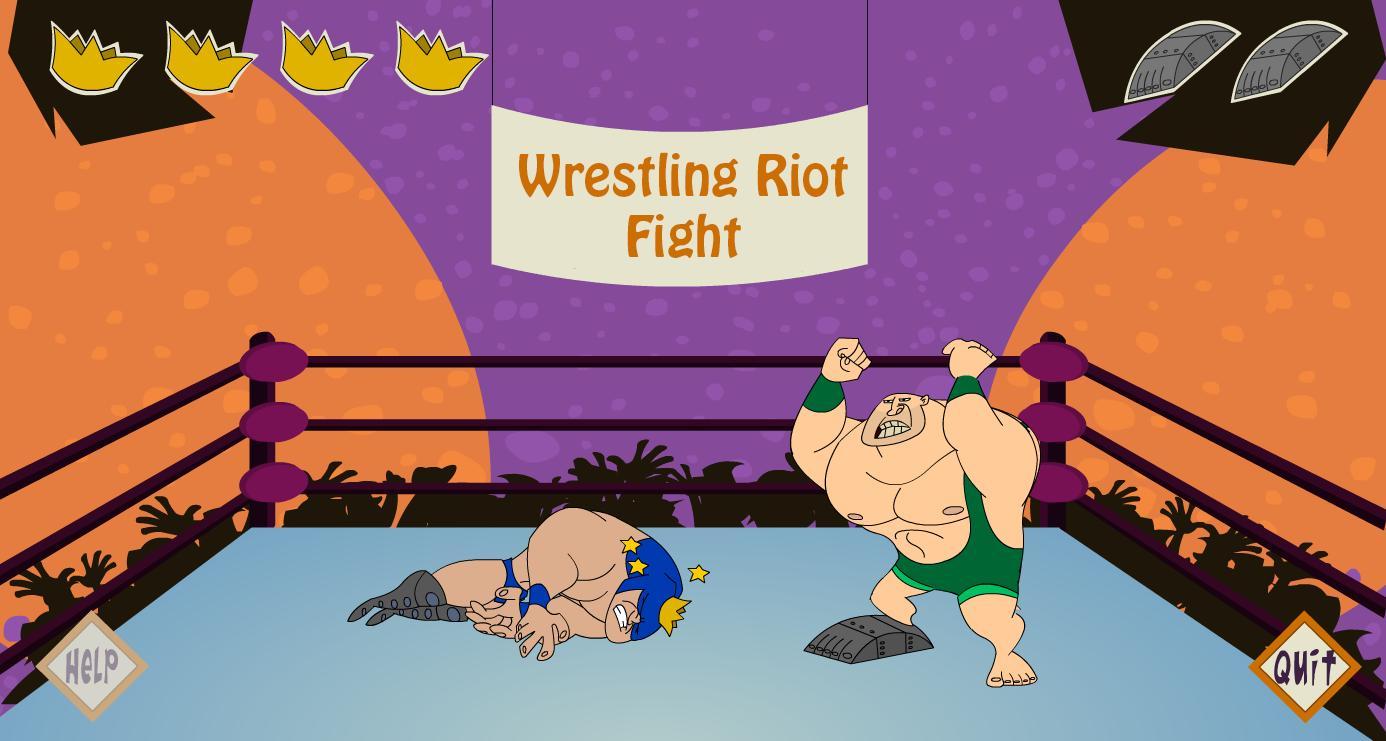 Wrestling Riot Fight 2 تصوير الشاشة