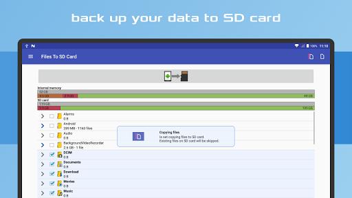 Files To SD Card 14 تصوير الشاشة