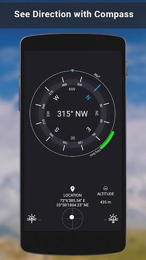 GPS Satellite - Live Earth Maps & Voice Navigation screenshot 6