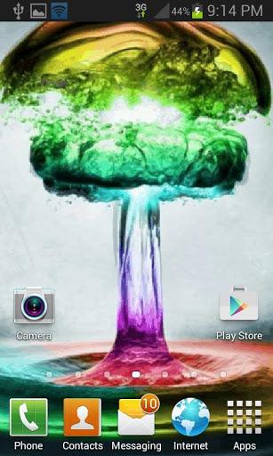Colorful Water Live Wallpaper screenshot 2