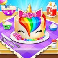 Unicorn торт Maker🦄🎂: Выпечка Игры для девочек on 9Apps