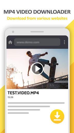 Mp4 Video Downloader - Video locker screenshot 1