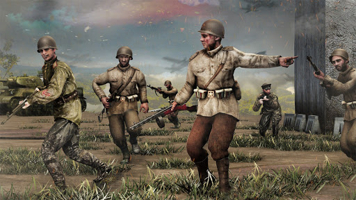 Call Of Courage : WW2 FPS Action Game screenshot 2