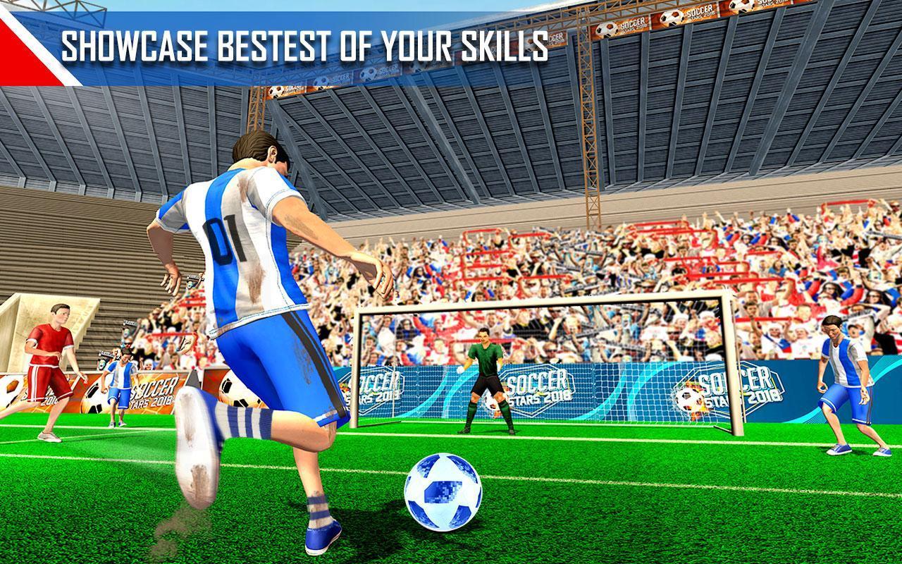 Real Football WC 2018 Dream League Soccer Stars 9 تصوير الشاشة