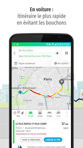 Mappy – Plan, Comparateur d'itinéraires, GPS screenshot 3