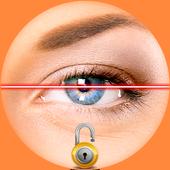 Eye Scanner Lock Screen Prank icon