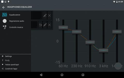 Headphones Equalizer - Music & Bass Enhancer 15 تصوير الشاشة