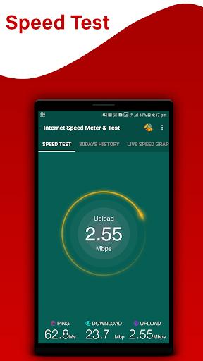 Internet Speed Meter & Speed Test screenshot 2