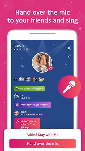 غنّي وسجّل وشارك! مع nana 6 تصوير الشاشة