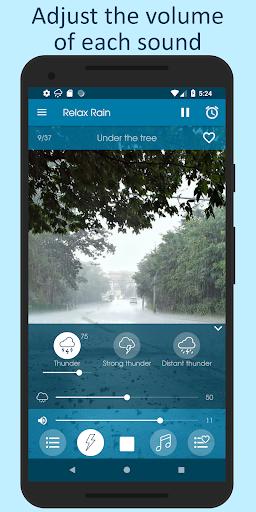 الاصوات من المطر 7 تصوير الشاشة