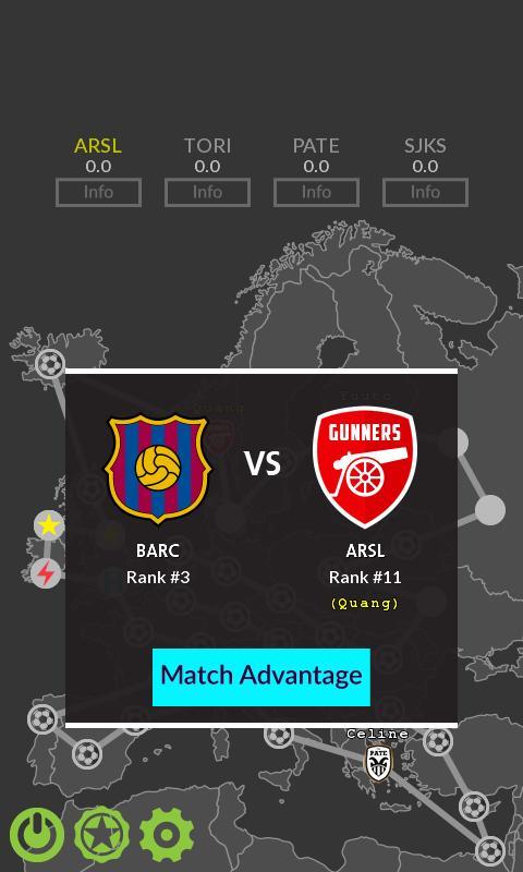 Football Tour Chess 1 تصوير الشاشة