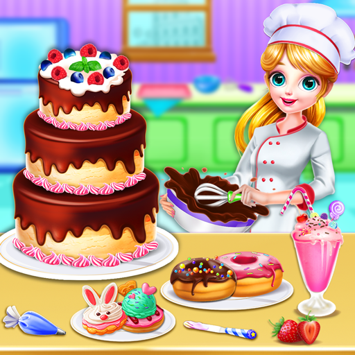 Sweet Bakery Chef Mania: Baking Games For Girls icon