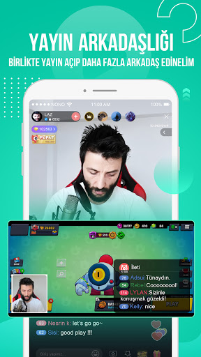 Nonolive - Canlı yayın ve görüntülü konuşma screenshot 5